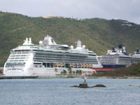 Cruise Ships Saint Thomas