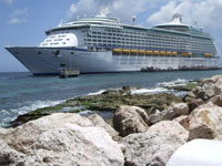 Cruise Ship Curacao